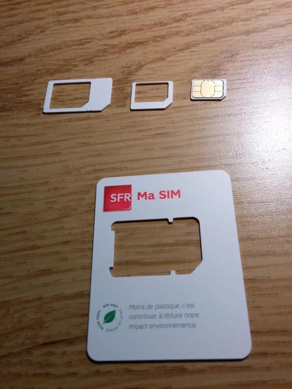 changement carte sim sfr RED by SFR   changement carte SIM   Infos & Questions