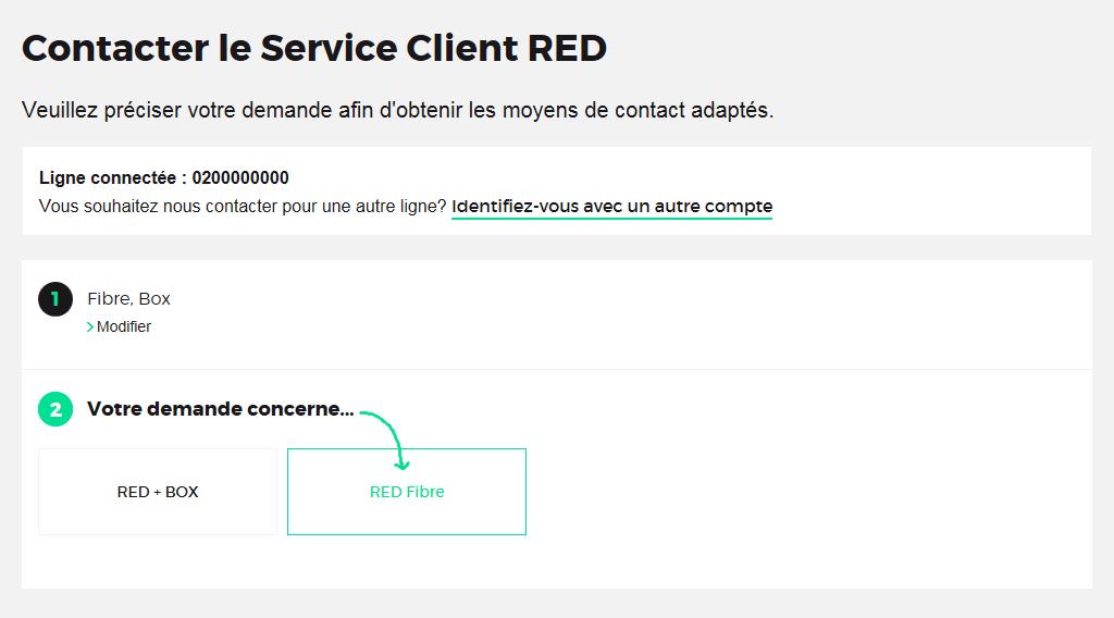 red by sfr probl me box red fibre aucune connexion internet aide conseils. Black Bedroom Furniture Sets. Home Design Ideas