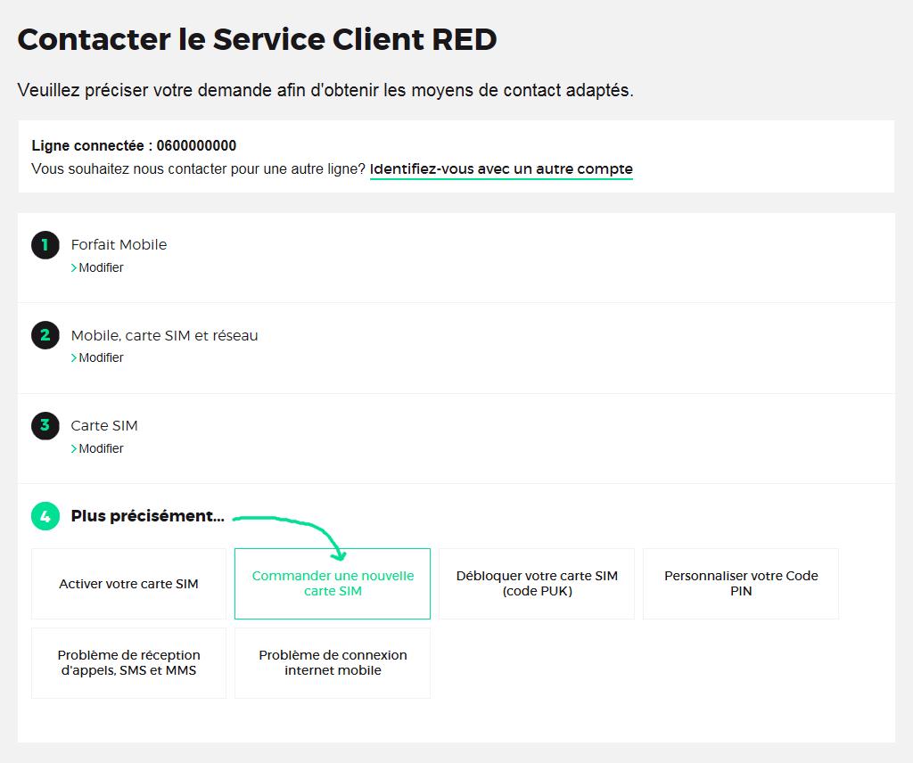 R solu red by sfr recommander une carte sim sans avoir activ la pre aide conseils - Avoir internet sans box ...