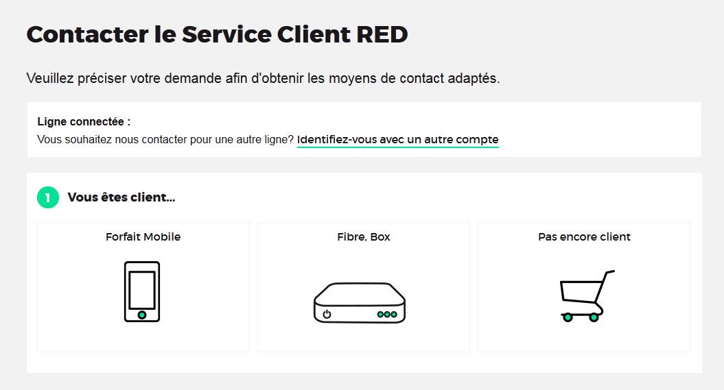 sfr red service client. Black Bedroom Furniture Sets. Home Design Ideas
