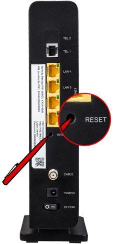 red by sfr effectuer un reset usine du modem tr s haut d bit aide conseils. Black Bedroom Furniture Sets. Home Design Ideas